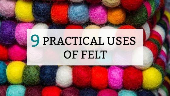 9 practical uses of felt