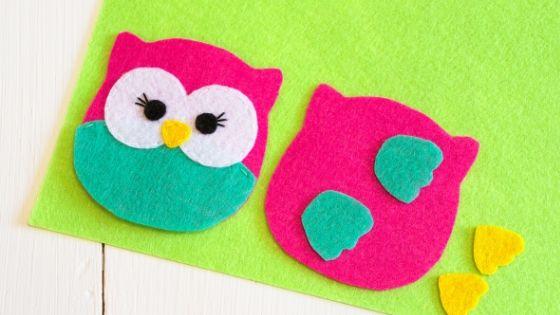 felt owl toy