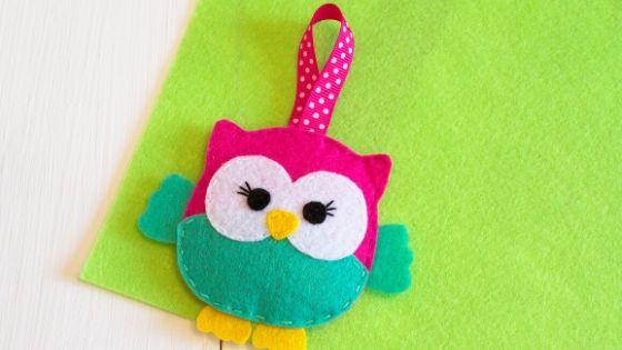 How to make felt owl