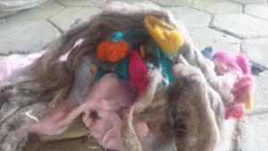 wool scrapes
