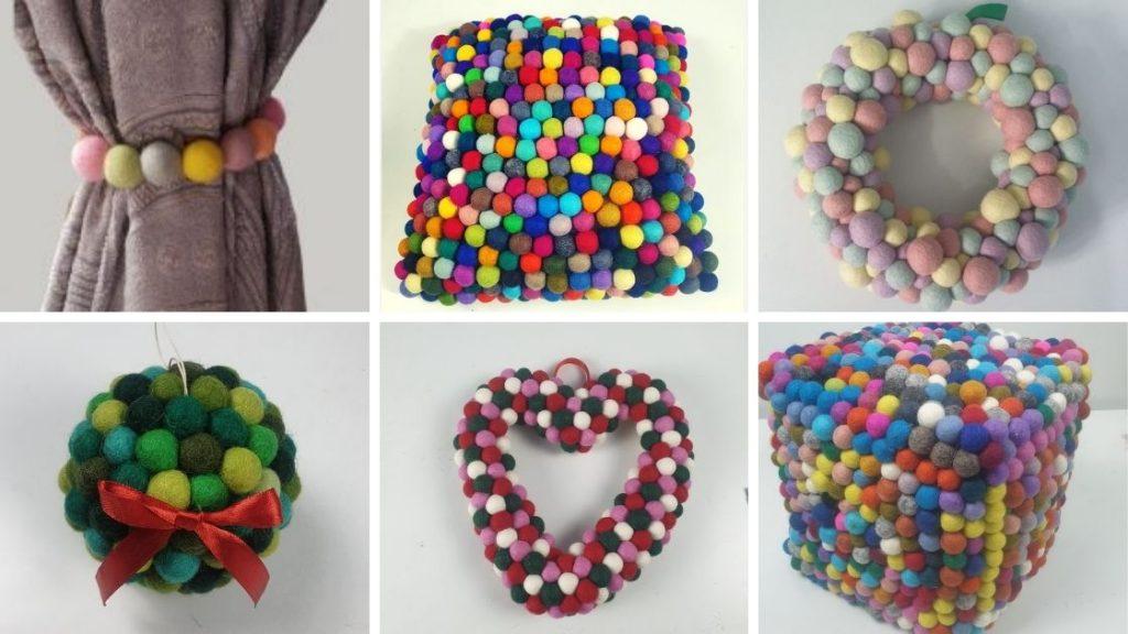 20 diy felt ball crafts